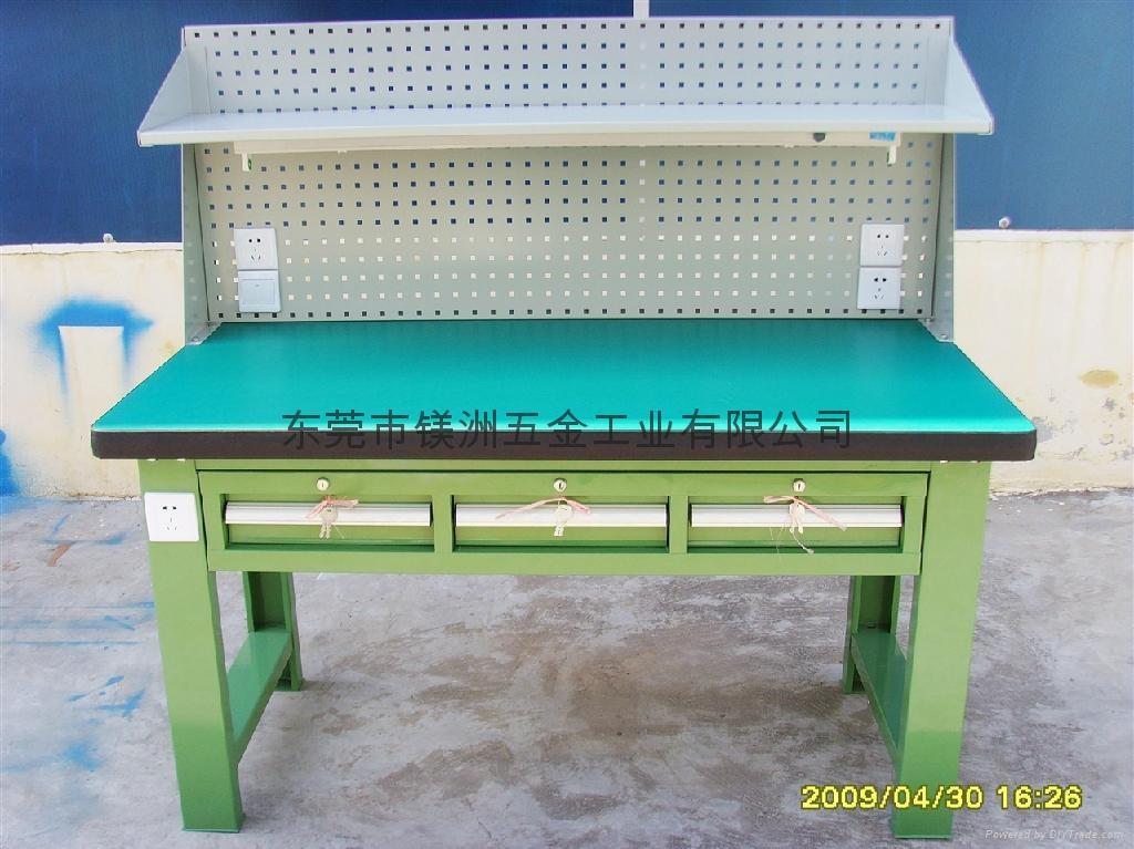 工具柜式重型工作台 2