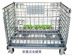 折疊式鍍鋅金屬倉儲籠