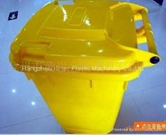 plastic trash can mould garbage bin mould