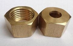 "1/2""NPT brass hose barb fittings water cooling push on fitting"