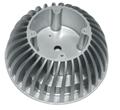 led light part aluminum alloy die casting