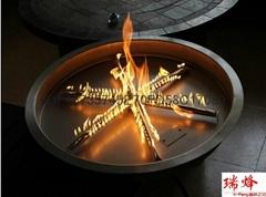 真火燃氣壁爐篝火