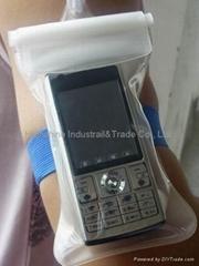 Waterproof bags for mobile phones