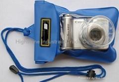 Waterproof bags for pocket cameras