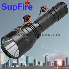 SupFire LED bright flashlight