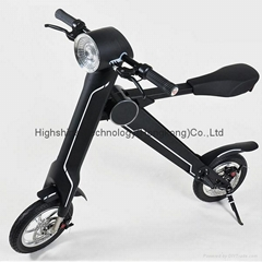 Electric folding scooter electric bicycle