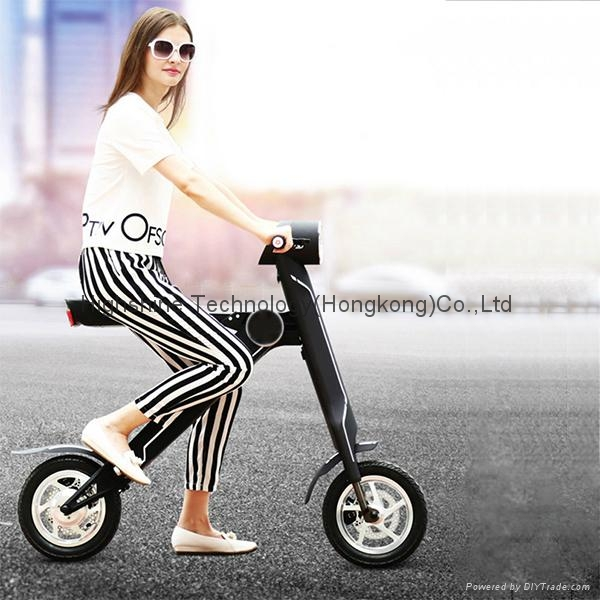 Electric folding scooter electric bicycle 6