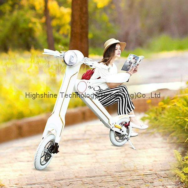Electric folding scooter electric bicycle 8