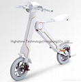 Electric folding scooter electric bicycle 2