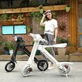 Electric folding scooter electric bicycle 9