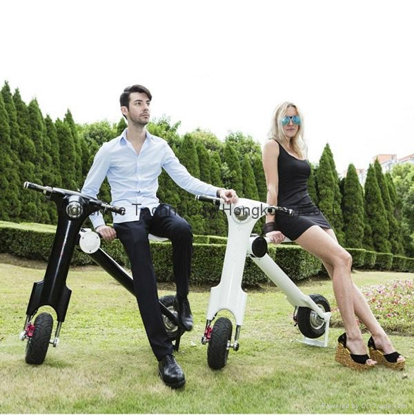 Electric folding scooter electric bicycle     7