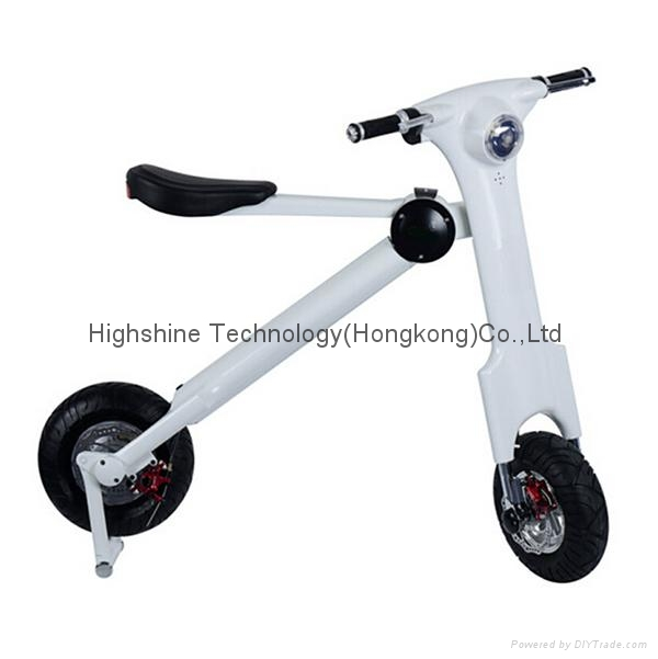 Electric folding scooter electric bicycle     1