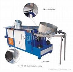 Hydralic elbow notching machine