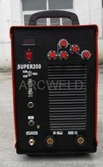 Inverter AC/DC  TIG/ARC/CUT welder(SUPER-200)