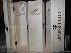 木制酒盒厂家生产 酒盒 葡萄酒盒 礼品红酒盒 现货销售 可定做
