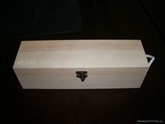 河南紅酒木盒廠家直供燒色仿古紅酒盒 六支裝酒類包裝盒