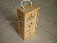 红酒包装盒厂家专业批发红酒包装礼盒木制现货供应欢迎采购直销价