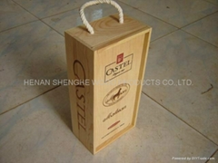 wooden package box