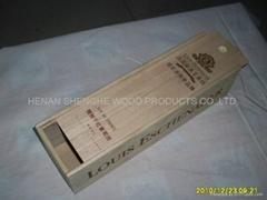 曹县酒盒厂家供应红酒盒 木制葡萄酒红酒礼盒 定做加工桐木红酒盒