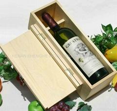 单支 单瓶 木质红酒包装礼盒 多支红酒木盒 葡萄酒包装盒