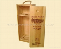 【畅销精品】厂家力荐红酒木盒、手工红酒木盒 做工精致