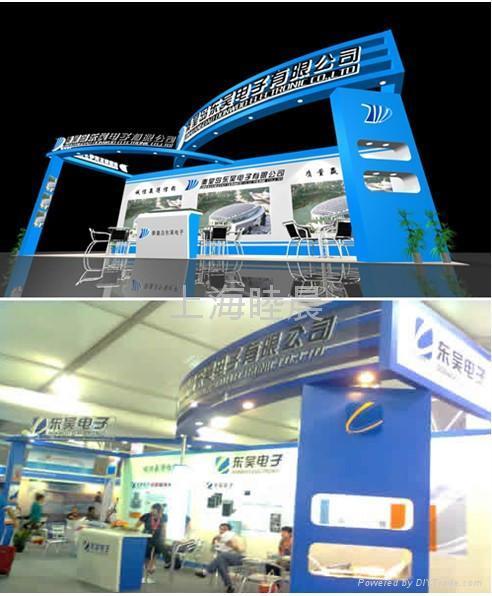 上海展览装修搭建 1