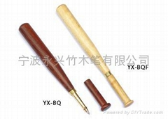 木制棒球笔