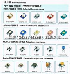 Trimmer Capacitors TC03C300A-TP02