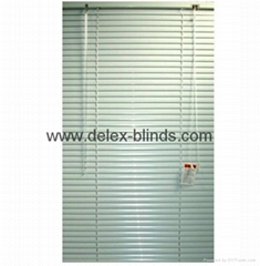 aluminum venetian blinds for windows with steel headrail and bottomrail