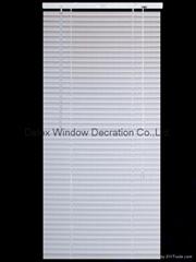 PVC Venetian Window Blinds Glossy with Headrail / Bottomrail