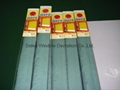 Blue Pleated Roman Windows Shades Blinds Blackout Waterpoof Sunscreen 3