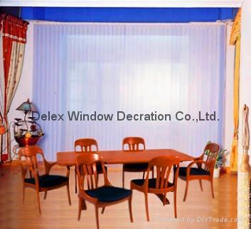 sunscreen fabric vertican blinds for windows with aluminum headrail 3