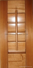 Lighting Indoor Doors Window Shutters , Interior Folding Shutters