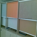 sunscreen fabric roller blinds for windows with 38mm diameter 5