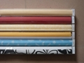 polyester fabric double roller blinds for windows with aluminum toprail 2