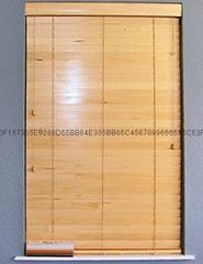 pvc foamwood venetian blinds with steel high headrail and pvc foamwood bottomrai