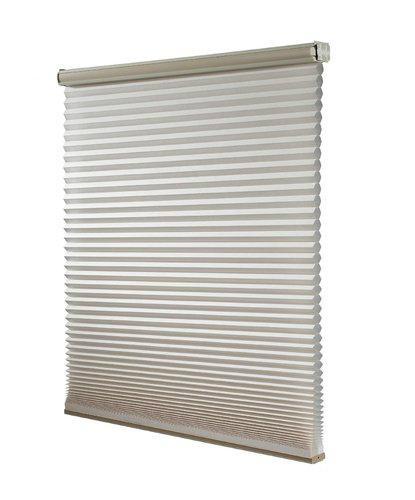 Windows Honeycomb Shades Manual Cord with Pleated Venetian 1