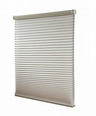 Windows Honeycomb Shades Manual Cord with Pleated Venetian