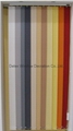 sunscreen fabric vertican blinds for windows with aluminum headrail 4