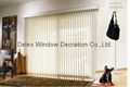 pvc vertical blinds for windows with s shapes vane and wand control 4