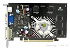 GeForce 7600GS PCI-E 256M/128M DDR3 VGA Card