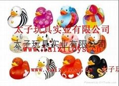 鴨子塑膠玩具系列