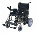 Fold wheel chair