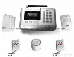GSM/PSTN雙網LED防盜報警系統