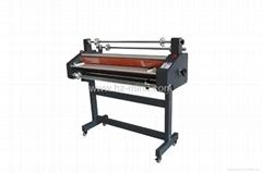 Professional manufacturer Hot Cold Roll Laminating Machine 1100mm lamination