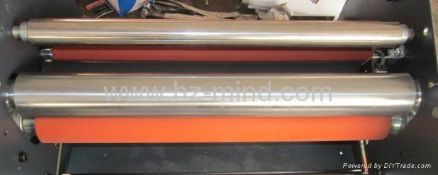 Professional manufacturer Hot Cold Roll Laminating Machine 1100mm lamination 4