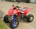 New raptor 350cc water cooled atv