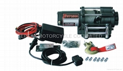 ELECTRIC WINCH WITH REMOTE CONTROL