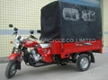 3-wheeler motorcycle with full cargo