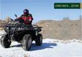 NEW 850CC DIESEL 4WD CVT ATV WITH